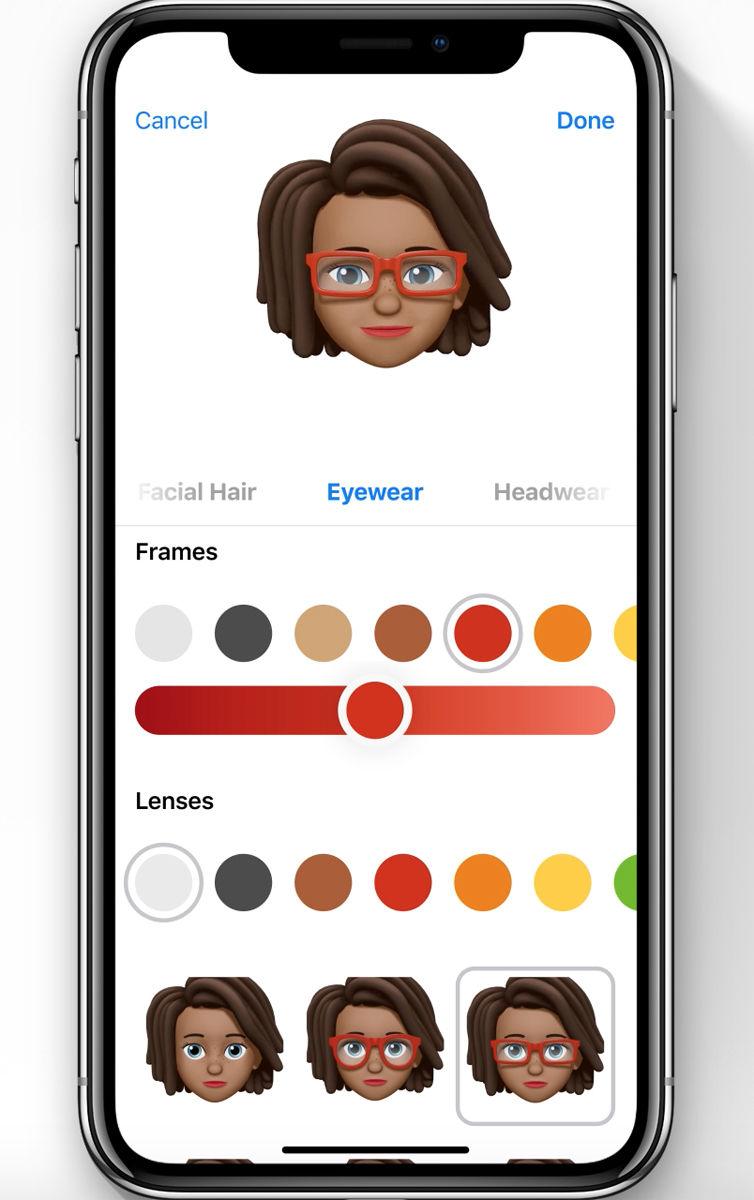 Cómo crear un Animoji personalizado de Memoji en iPhone X