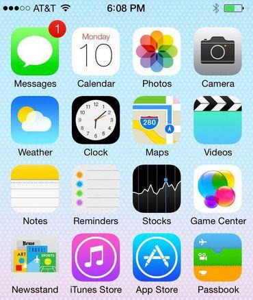 Su iPhone 5 se parecerá mucho más a un 5S una vez que instale iOS 7.