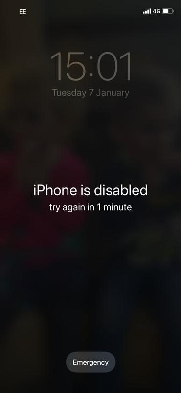 Cómo arreglar 'iPhone está deshabilitado. Conectarse a los errores de iTunes: deshabilitado