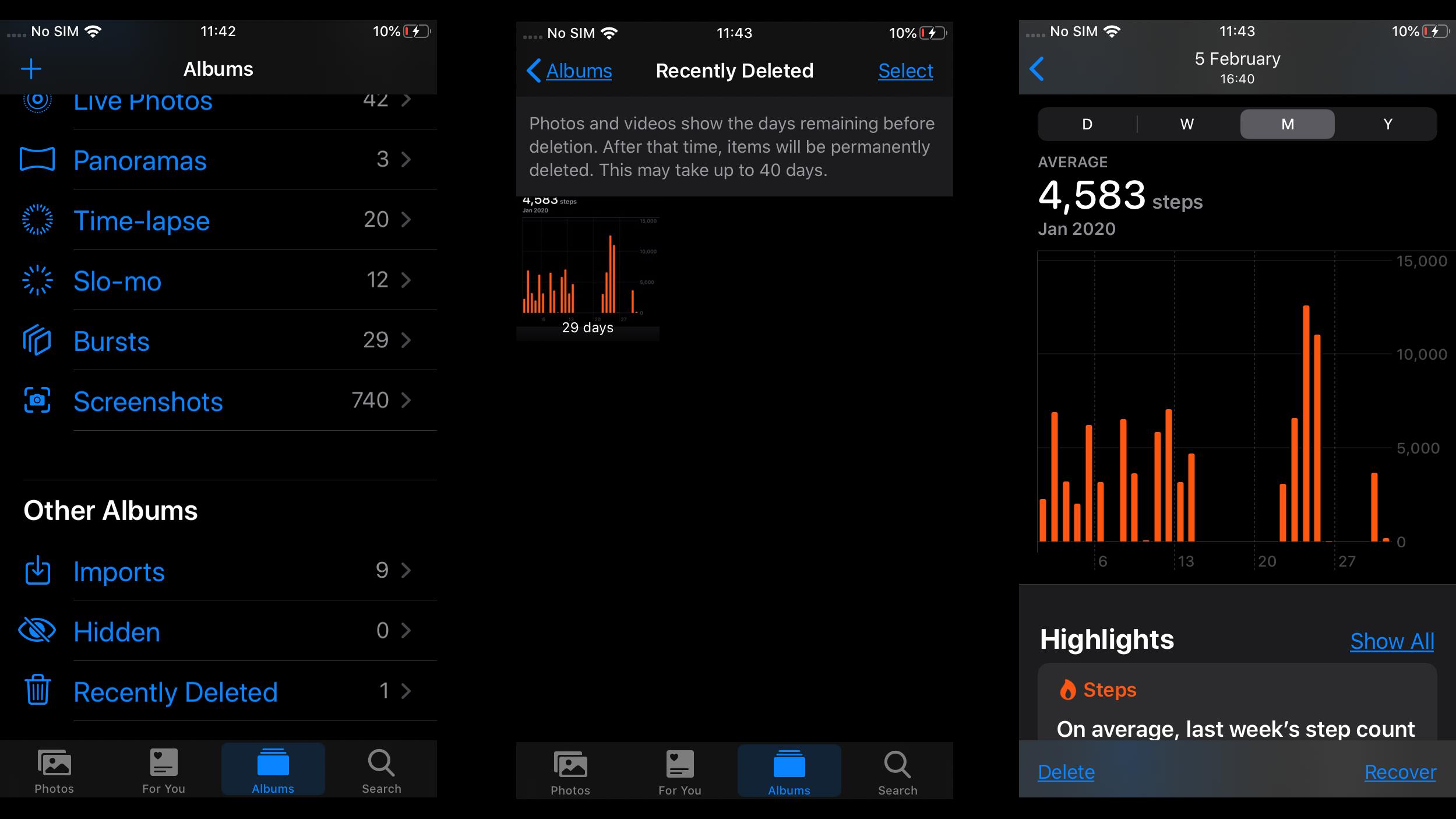 Eliminar fotos del iPhone, ¿las elimina de iCloud (y viceversa)? Recuperar fotos