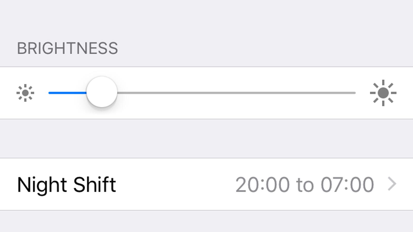 Cómo desactivar el brillo automático en el iPhone: configurar el brillo manualmente