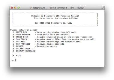 Cómo omitir un código de acceso olvidado en iPhone o iPad: software forense de iOS