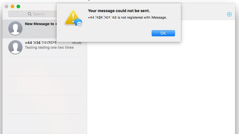 Cómo usar Mensajes en Mac: Enviar a través de iPhone