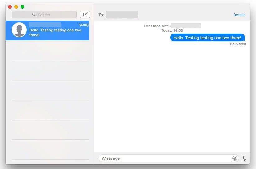 Cómo usar Mensajes en Mac