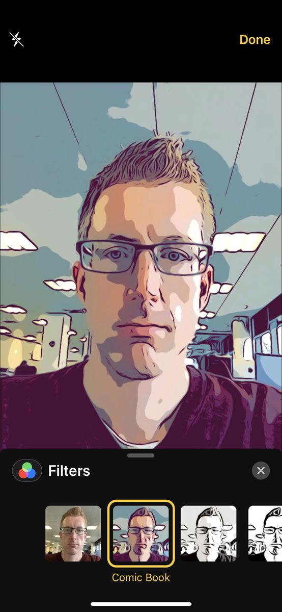 Cómo usar filtros de cámara en Mensajes: efectos