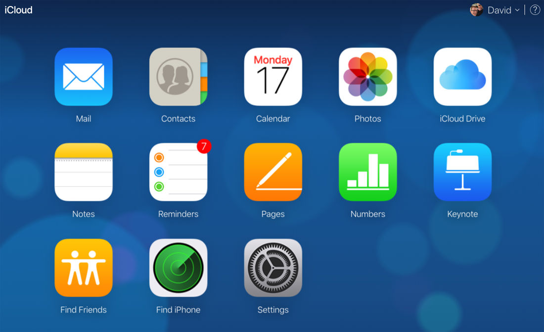 Cómo configurar un grupo de contactos en iPhone: iCloud