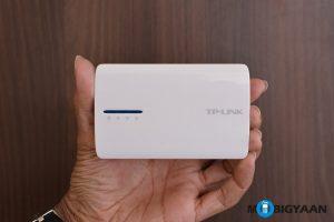 Router inalámbrico N portátil 3G / 4G alimentado por batería TP-Link [TL-MR3040] - Manos a la obra