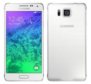 Samsung Galaxy Alpha se lanzó en India por Rs.  39990