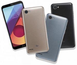 LG Q6 +, Q6, Q6α de gama media anunciados con pantalla FullVision y Android Nougat