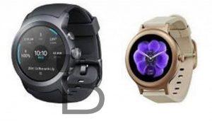 Se filtraron imágenes de relojes inteligentes LG con Android Wear 2.0