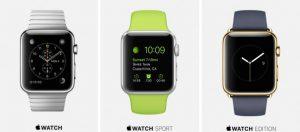El precio del Apple Watch varía entre $ 349 y $ 17000;  saldrá a la venta a partir del 24 de abril