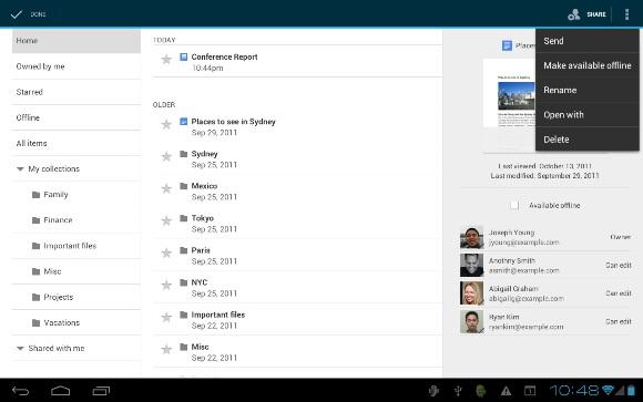 google-docs-tablet-offline