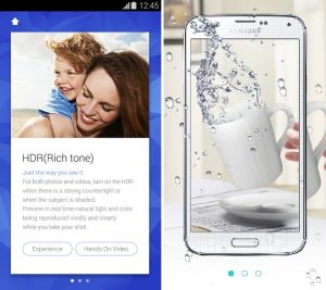 La aplicación Samsung Galaxy S5 Experience te muestra cómo se siente tener uno