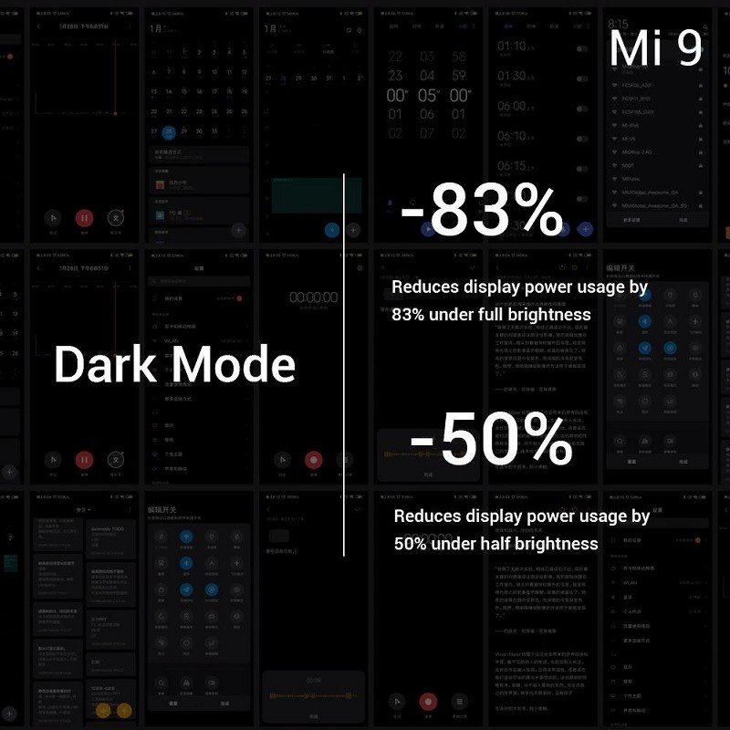 xiaomi-mi-9-modo oscuro
