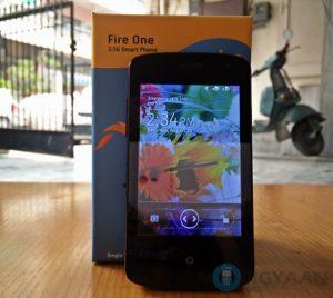 Spice Fire One estará disponible por Rs.  1999 como parte de la Mega Venta de Diwali de Snapdeal