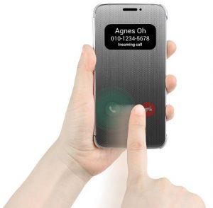LG presenta la funda Quick Cover con función táctil para LG G5