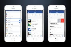 La nueva función Guardar de Facebook te permite guardar enlaces, lugares y más para más tarde
