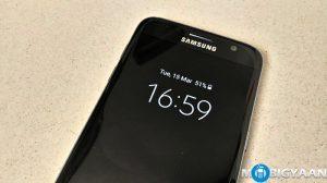 Cómo deshabilitar la pantalla Always On en Samsung Galaxy S7