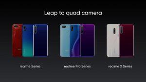 Realme confirma los teléfonos inteligentes de próxima generación con configuración de cuatro cámaras