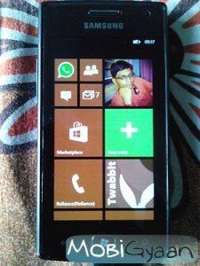 Windows Phone 7.8 para Samsung Omnia W ahora se implementa en India