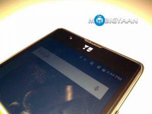 El teléfono inteligente YU6000 con pantalla de 6 pulgadas visto en las importaciones