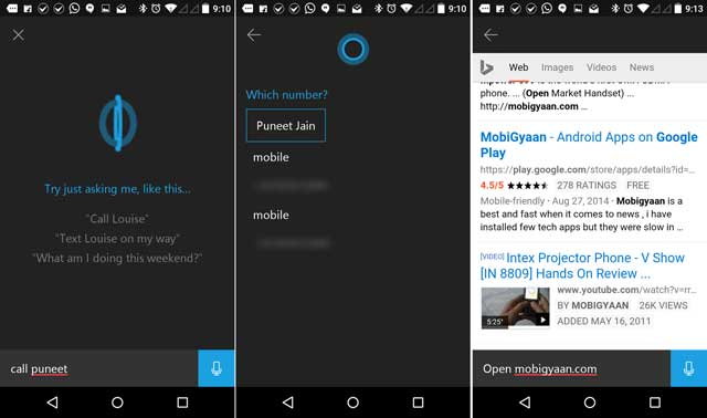 cortana-android-captura de pantalla-mobigyaan-2