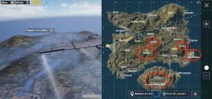 5 mejores ubicaciones de botín en PUBG Mobile [Erangel Map]