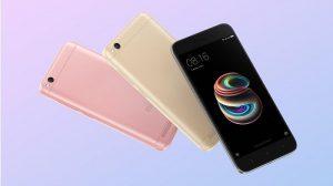 Xiaomi Redmi 5A recibe MIUI 10 Global Stable ROM en India