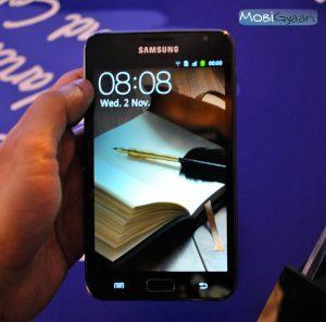 Samsung Galaxy Note primera práctica [Video]