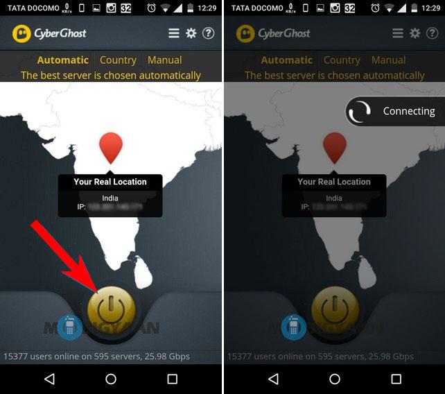 Cómo acceder a sitios web bloqueados en Android 4