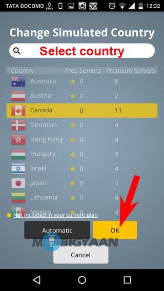 Cómo acceder a sitios web bloqueados en Android 5