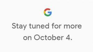 Los teléfonos inteligentes Google Pixel de segunda generación se presentarán el 4 de octubre