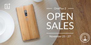 La venta abierta de OnePlus 2 comienza a partir de hoy en India