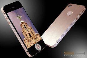 Los 5 teléfonos más caros del mundo: ¡todos son iPhones adornados hechos por un solo hombre!