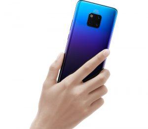 Se anuncia HUAWEI Mate 20 Pro, con cámaras triples, escáner de huellas dactilares en pantalla, CPU Kirin 980 de 7 nm, carga inalámbrica inversa y más