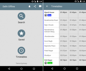 Google lanza una nueva aplicación de transporte público para Delhi