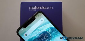Cómo ver el porcentaje de batería en Motorola One Power [Guide]