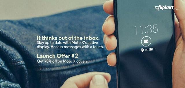 Oferta del día de lanzamiento de Flipkart-Moto-X