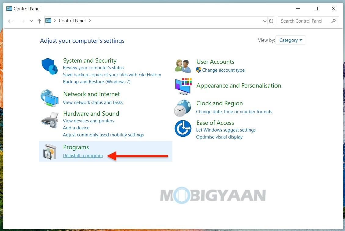 5 formas de eliminar o desinstalar programas y aplicaciones en Windows 10-4