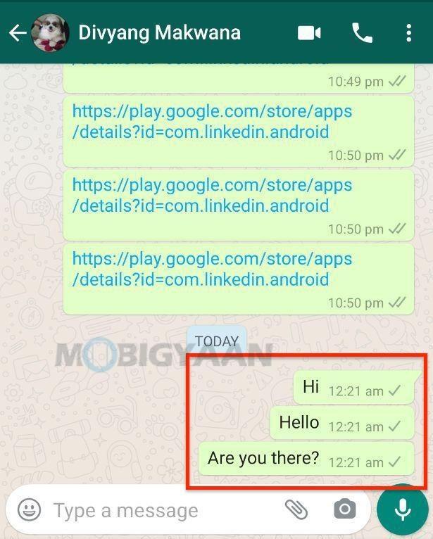 4 formas de averiguar si estás bloqueado en WhatsApp 2