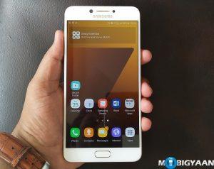 Cómo iniciar rápidamente la cámara en Samsung Galaxy C7 Pro [Guide]