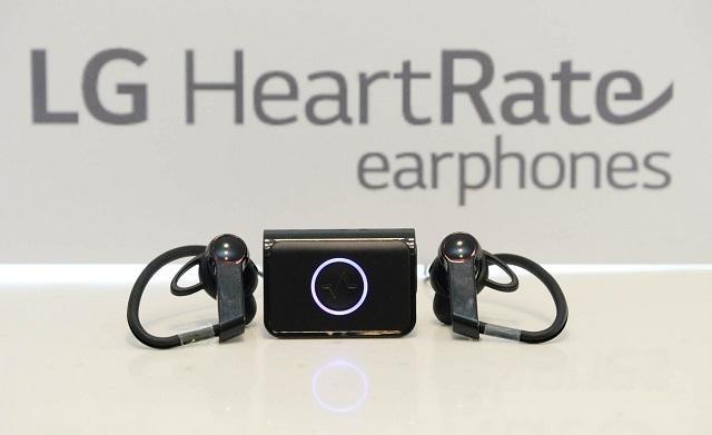 Auriculares de frecuencia cardíaca LG