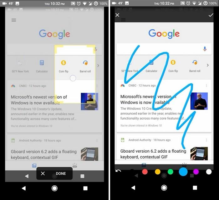 google-app-captura de pantalla-recorte-dibujo-probado-2