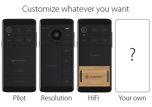 Foncraft-modular-smartphone
