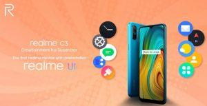 Especificaciones completas de Realme C3 reveladas antes de su lanzamiento el 6 de febrero