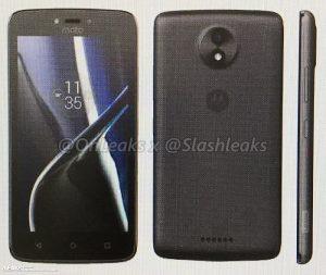 La prensa de Motorola Moto C y Moto C Plus aparece en línea