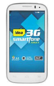 Se lanzó el teléfono inteligente Idea Aurus 4 dual SIM 3G para Rs.  8999