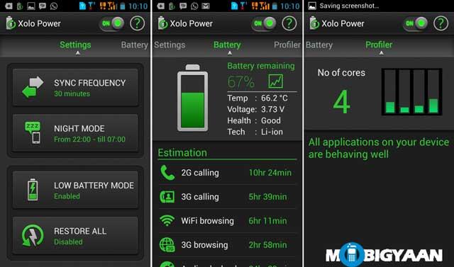 Aplicación XOLO-Q1000-Opus-power