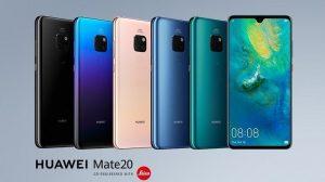 Huawei Mate 20 se vuelve oficial con Kirin 980 SoC, pantalla Dewdrop de 6.53 pulgadas y cámaras traseras triples