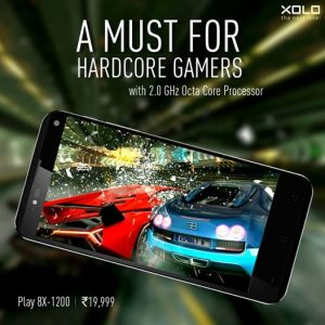 Xolo Play 8X-1200 con pantalla Full HD de 5 pulgadas y procesador octa core lanzado para Rs.  19,999